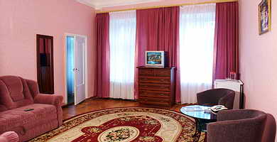 Ukraine Odessa Centralnaya Hotel Junior Suite, two rooms (30 sq.m.)