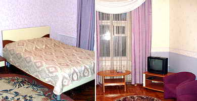 Ukraine Odessa Centralnaya Hotel Single Standard, one room (17 sq.m.)